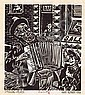 Harry Kernoff RHA (1900-1974) THIRTY-SIX WOODCUTS (1951) and STROLLING - PLAYER limited edition book; (1); woodcut; (1)