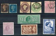 Stamps. Great Britain collection of mint and used.