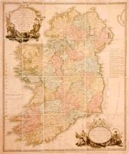 1797 Alexander Taylor, military map of Ireland.