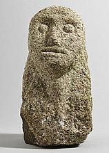 500BC to 500AD Iron Age. Irish stone head.