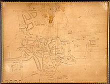 Map of Dublin after John Speed.