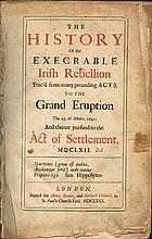 Borlase, Edmund. The History of the Execrable Irish Rebellion: