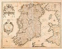 1659 Map, Jans Janszoon, Ireland