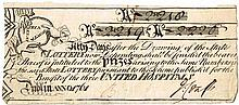 1761. State Lottery Ticket, Dublin.
