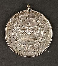 1798 Limerick Militia Medal for Coloony