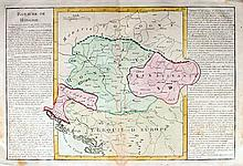 19th Century. Collection of Hand Coloured Maps of Central Europe.