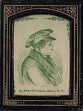 Circa 1830 caricature of Daniel O'Connell