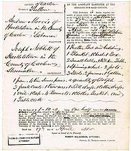 1843 - 1850 Thomas Crawford Butler Attorney, Carlow
