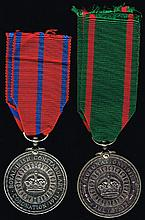 1911 Coronation and Visit to Ireland Medals