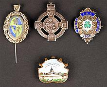 1907 Irish International Exhibition badge