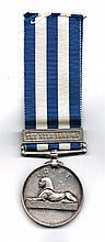 1882 - 1889 Egypt Medal, Royal Irish Regiment.