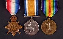 1914-18 World War I Trio, Royal Irish Regiment