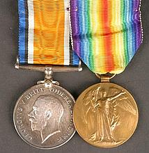 1914 - 1918 Royal Irish Rifles medals