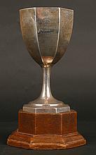 Victoria Cross recipient Neville Bowes Elliott-Cooper VC DSO MC - his silver trophy.