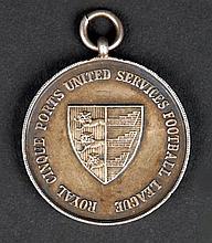 1923 - 1924 Royal Dublin Fusiliers, football league winning medal
