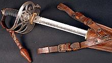 1914 - 1918 WWI Irish Guards Officer's sword