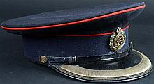 1930s Royal Engineers Officer's dress cap.