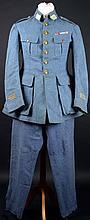 A WWI French Army captain's horizon-blue uniform. (2)