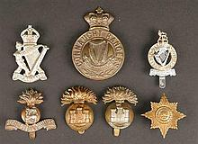 A collection of various regimental badges, Irish regiments British Army (11)