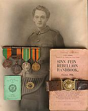 1916 Rising, Enniscorthy: an important group of medals