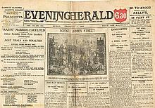 1916 (21 April - May 20). Collection of newspapers reporting the Rising and its aftermath.
