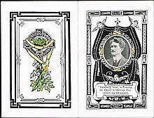 1917. Thomas Ashe In Memoriam card.