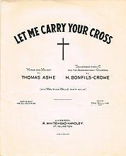 Thomas Ashe collection. (9)