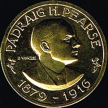 1916 Rising 50th Anniversary gold medal.