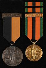 An archive of documents, medals and insignia relating to John Thomas Penrose, veteran of The Irish and Spanish Civil Wars