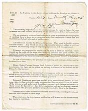 1918-24: Timothy Lynch collection of War of Independence and Civil War prison correspondence