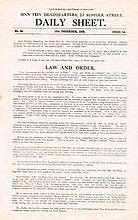 1923 (31 October to 20 December). Civil War: Collection of Sinn Féin Daily Sheet publications.