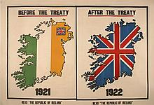 1922 Anti-Treaty poster
