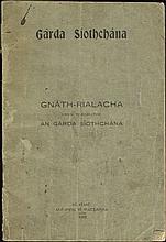 1922 Garda Siothchana, Gnath-Rialacha / Regulations