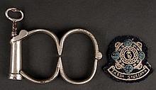 Mid-20thC Garda Siochanna Inspector's rank badge (2)
