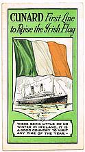 1922 'Cunard First Line to Raise the Irish Flag' (2)