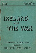 1940-44. Ireland And The War booklet by The Irish Association and Volunteers From Eire Who Have Won Distinctions...