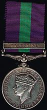 George VI General Service Medal, Royal Irish Fusiliers