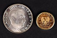 Adolf Hitler commemorative medals.