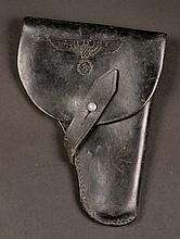 1939-45 German black leather holster and a range of other items.