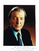 Charles J. Haughey, autographs