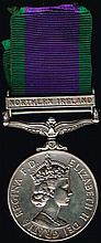 1962 - 2007 Campaign Service Medal, Ulster Defence Regiment