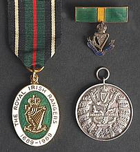 20th century Irish Regiments, non-military medals and decorations