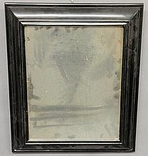 William & Mary mirror mounted in a frame of a later date. 20.5