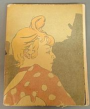 Book- The Posters of Toulouse Lautrec printed in France by Mourlot Freres, Paris, February 1951. 13