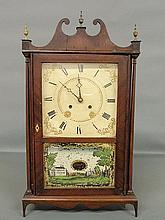 Eli Terry & Sons pillar and scroll clock. 30
