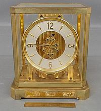 Swiss LeCoultre 15 jewel Atmos clock. 9.25