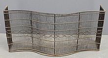 English serpentine wire high fire fender, early 19th c. 15