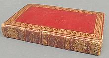 Book- Rokeby, A Poem, Scott, Walter, Edinburgh 1813, 8-vo, full contemporary Morocco with fore-edge painting of the Great Bridge. Worn.