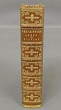 Book- Historical Memorials of Westminster Abbey, Stanley, Arthur P., London 1868, 8-vo, full green Morocco with fore-edge painting of the Abbey.