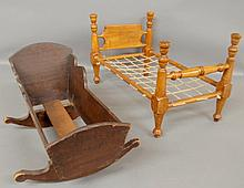 Maple doll bed 12